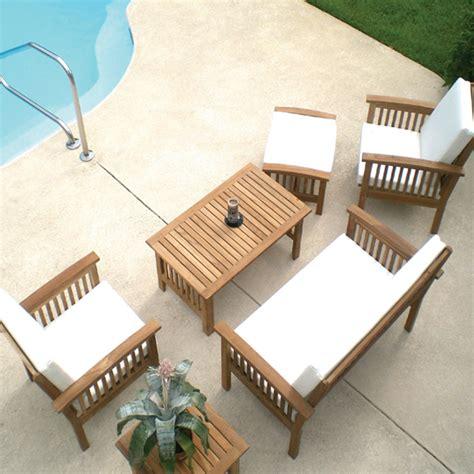 blogs teak patio furniture requires  attention