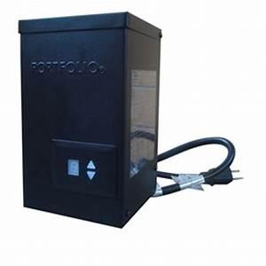 shop portfolio 300 watt 14 volt multi tap landscape With lowe s low voltage outdoor lighting transformer