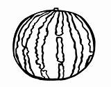 Watermelon Coloring Pages Print sketch template