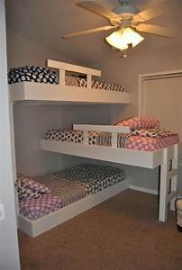 20, Efficent, Solutions, For, Decorating, Triplet, Bedroom