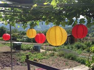 Garten Lampions Wetterfest : unser garten teil 2 anlegen und dekorieren ~ Frokenaadalensverden.com Haus und Dekorationen