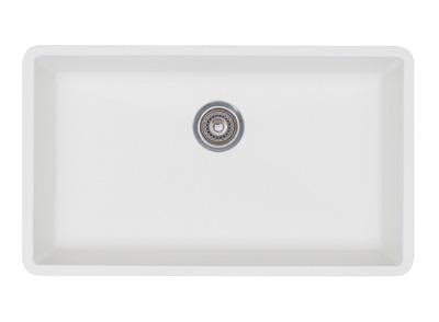 white undermount kitchen sinks single bowl blanco 440150 precis single bowl undermount 2116