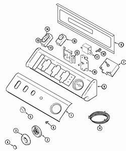 Maytag Mdg7057aww Dryer Parts