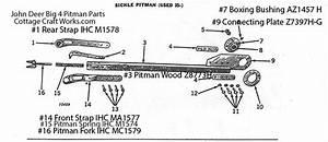 John Deere Big 4 Sickle Mower Pitman Replacement Parts
