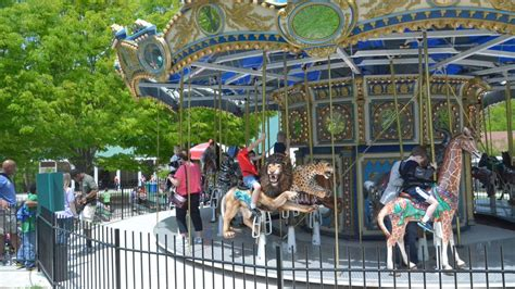 rides zoo maryland carousel attractions fun ride indoor train district activities
