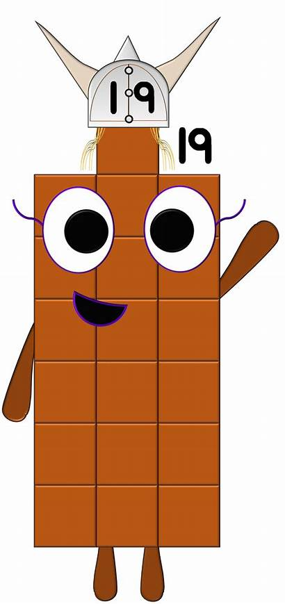 Numberblocks Nineteen Character Wiki Fandom