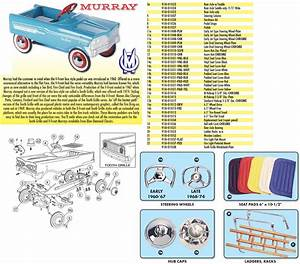 Murray U00ae Pedal Car Parts  Seat Cover