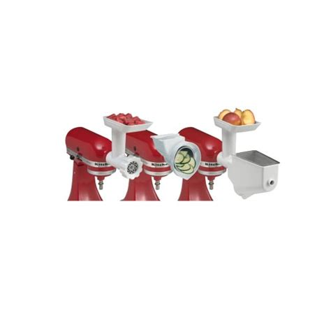 Kitchenaid Mixer Attachment Pack by Kitchenaid 5fppa Mixer Attachment Pack 3 In 1 World Import