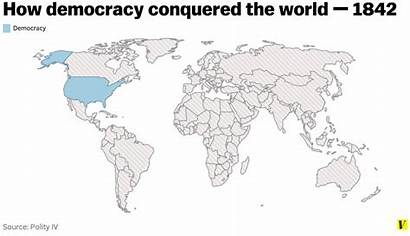 Democracy Map Vox Spread Animated History Conquered