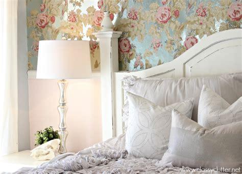 shabby chic bedroom wallpaper maintenance mode