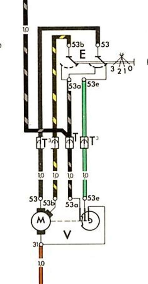 vw bug wiper motor wiring wiring diagram schematics