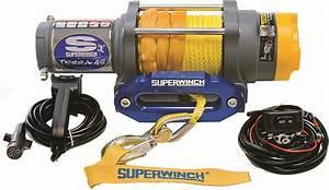 Complete Infloor Winch Kit Superwinch 4500 Terra 45