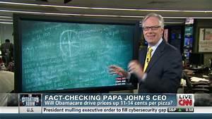 Fact-Checking Papa John's CEO - CNN Video