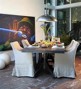 Petite Table Salle À Manger : id e d co salle manger la salle manger style industriel ~ Melissatoandfro.com Idées de Décoration
