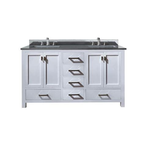 60 inch sink vanity without top 1804modero vs60 wt a 1
