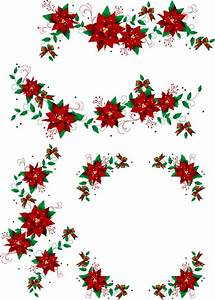 Christmas Wreaths 2 vector, free vector graphics - Vector.me