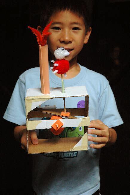 tinkering project cardboard automata exploratorium