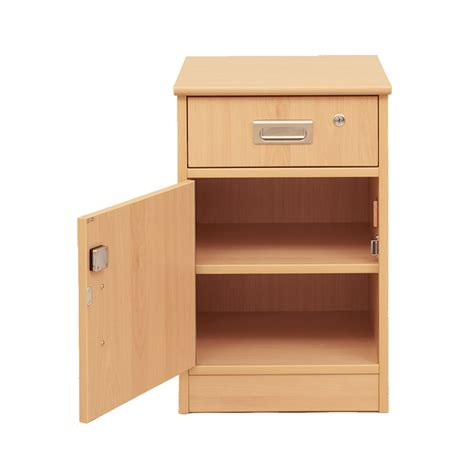 Cabinet Plus by Tough Plus Bedside Cabinet With Drawer And Door H637 X