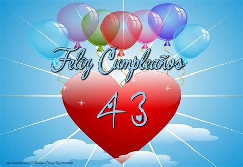 Felicitaciones para años 43 años Página 2