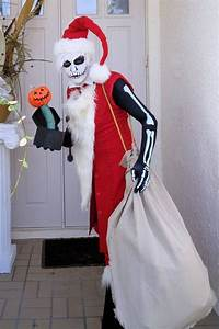 Jack Skellington as Santa Jack from Nightmare Before ...