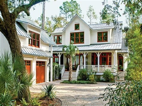 Country Style House Plans, Southern Low Country Style