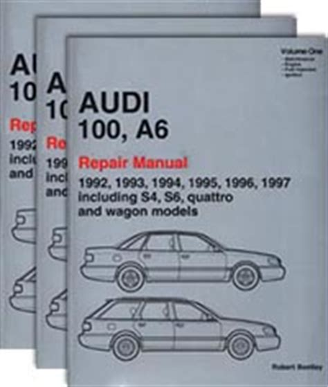 vehicle repair manual 1997 audi a6 spare parts catalogs audi repair manual 100 a6 1992 1997 bentley publishers repair manuals and automotive books
