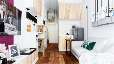 Small Apartment : Designing For Super Small Spaces