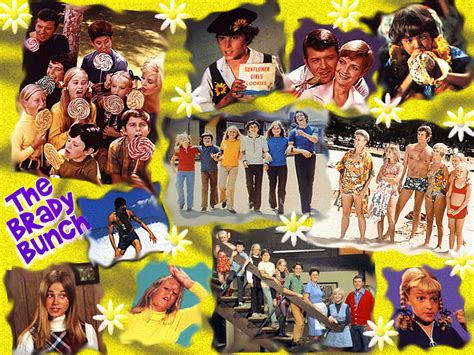 brady bunch wallpaper  brady bunch wallpaper