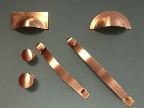 Cupboards Handles by Brushed Copper Handles Cups Pulls Bows For Kitchen