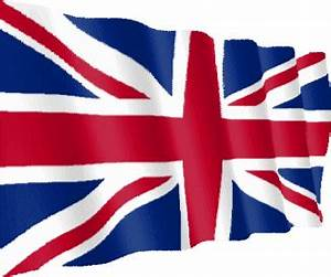 UK flag - Free animation (animated gif)