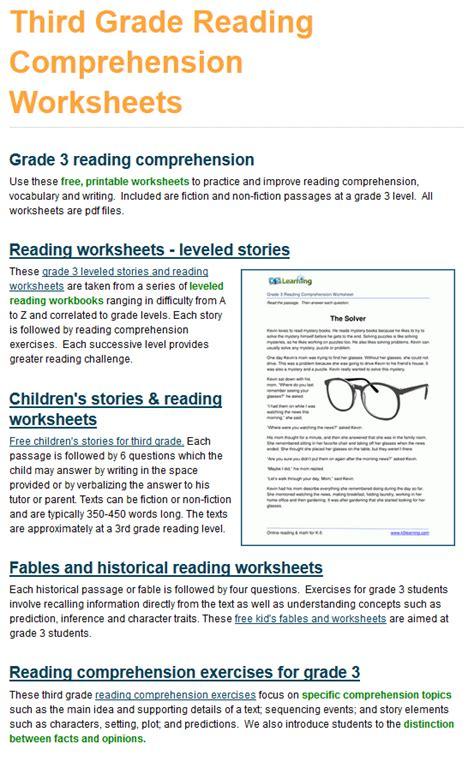 grade  reading comprehension workbook