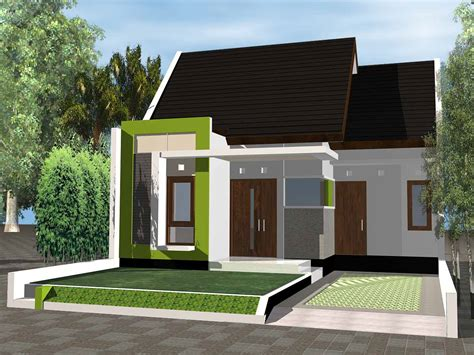 referensi desain rumah minimalis modern  lahan