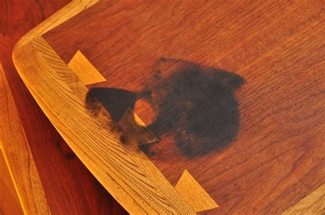 removing stains  teak  walnut furniture barkeepers