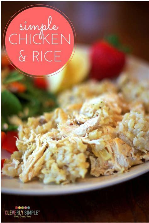 easy chicken  rice recipe easy rice recipes easy