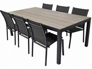 Soldes Chaises De Jardin : solde table et chaise de jardin table de terrasse en bois maisondours ~ Melissatoandfro.com Idées de Décoration