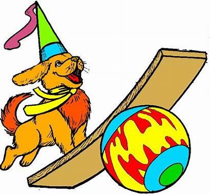Circus Zirkus Cliparts Clipart Animaatjes Bild Afbeelding