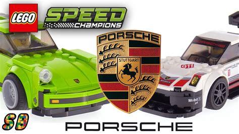 lego speed chions porsche lego speed chions porsche 911 rsr turbo 3 0 lego set 75888