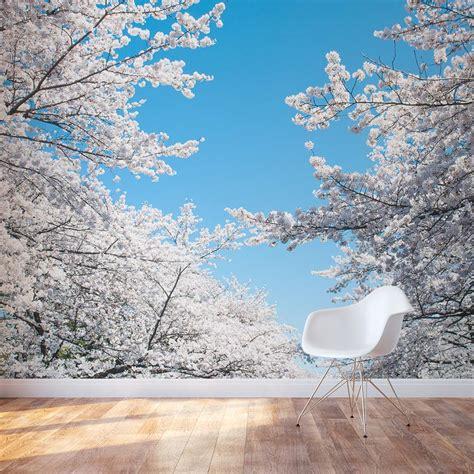 white cherry blossom wall decal cherry blossom tree wall