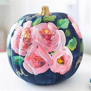 Kürbis Bemalen Gesicht : herbst dekoration zu halloween mit bemalten k rbissen ~ Markanthonyermac.com Haus und Dekorationen
