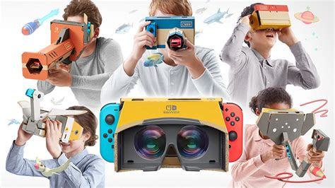 build your own vr headset with nintendo labo vr expert