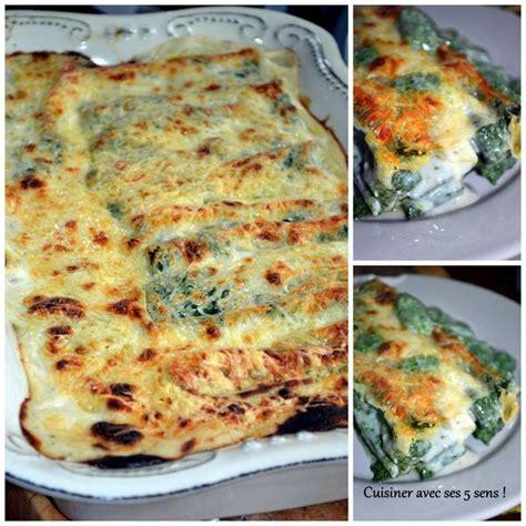 cuisiner ricotta cannellonis végétariens épinard basilic ricotta