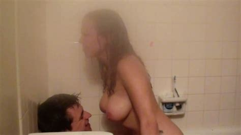 Steamy Shower Sex And Blowjob With Intense Orgasm And Cum