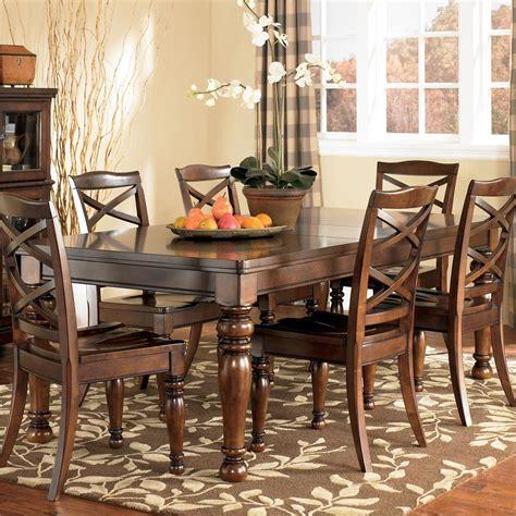 ashley furniture dinner tables ashley furniture porter d697 35 rectangular extension