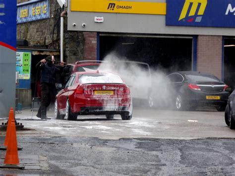Car Wash, Modern Tyres, Omagh © Kenneth Allen Cc-by-sa/2.0