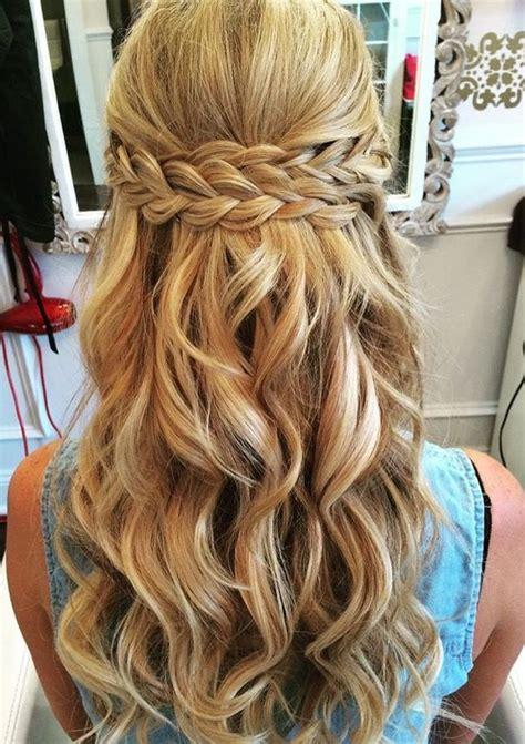 peinado sencillo  trenzas peinados prom hairstyles