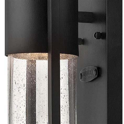 hinkley shelter black one light outdoor wall light 1326bk
