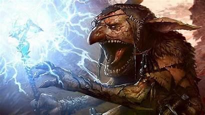 Goblin Warcraft Goblins Artwork Magic Gathering Fantasy