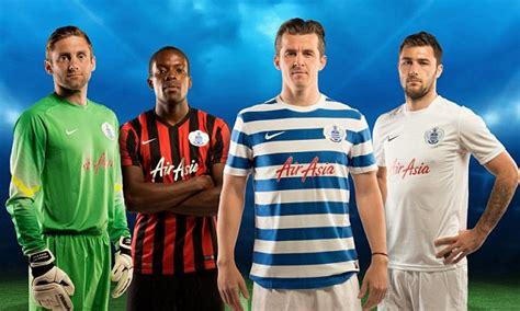 nike football unveils manchester joey barton unveils park rangers new nike kits