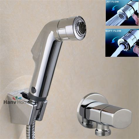 Handheld Bidet Sprayer Set For Toilets - toilet bathroom held bidet spray shower