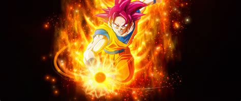 super saiyan god goku dragon ball hd  wallpaper